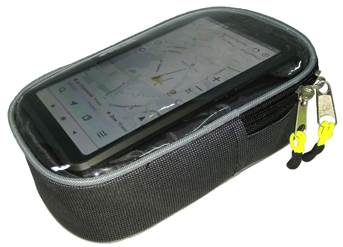 Велосумка «Боксер» на руль для мобильного телефона
