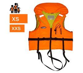 Детские спасательные жилеты COURSE с подголовником, размеры XXS, XS