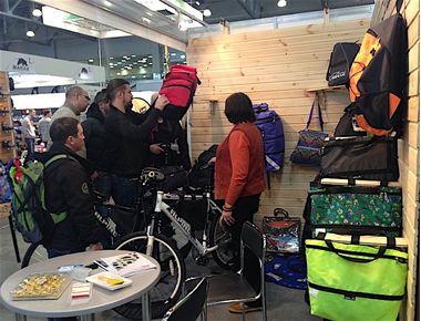 CORSE на выставке Велопарк 2016
