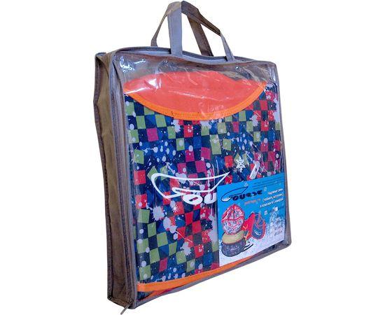 Надувные санки-ватрушки с рисунком диаметром 80 см (комплект А - с камерой)