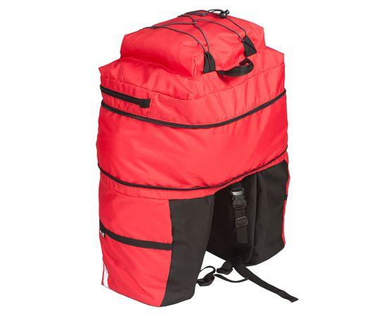 Велорюкзак на багажник (велоштаны) 30-50 литров