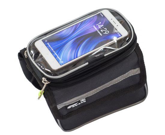 Велосумка «ПиФорм» на раму с чехлом для смартфона