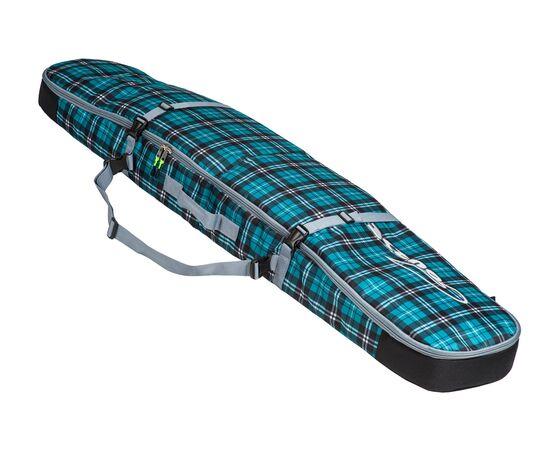 Чехол для сноуборда «Фьюжн-2» 155 см, цвет Green check