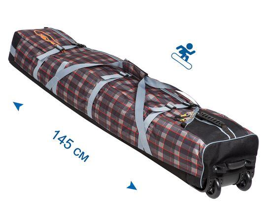 Чехол для сноуборда на колесах «Фрост» 145 см, общий вид