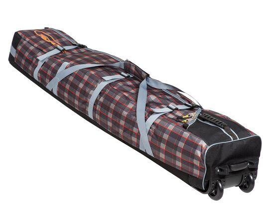 Чехол для сноуборда на колесах «Фрост» 145 см, цвет Orange check
