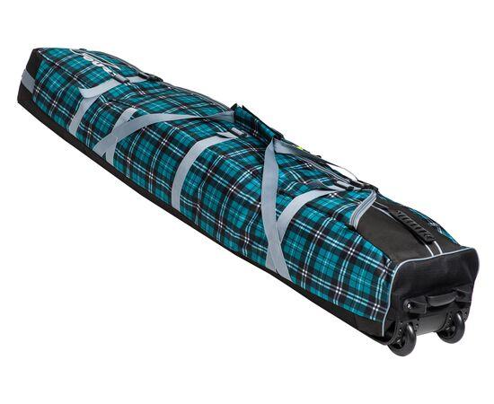 Чехол на колесах для сноуборда «Фрост» 155 см, цвет Green check