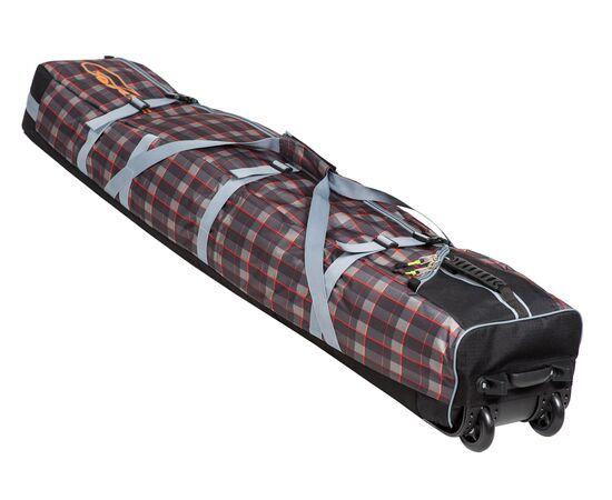 Чехол на колесах для сноуборда «Фрост» 155 см, цвет Orange check