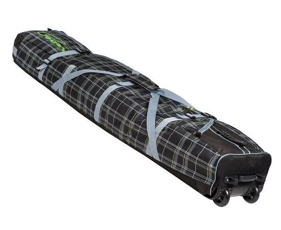Чехол на колесах для сноуборда «Фрост» 165 см, цвет Black check