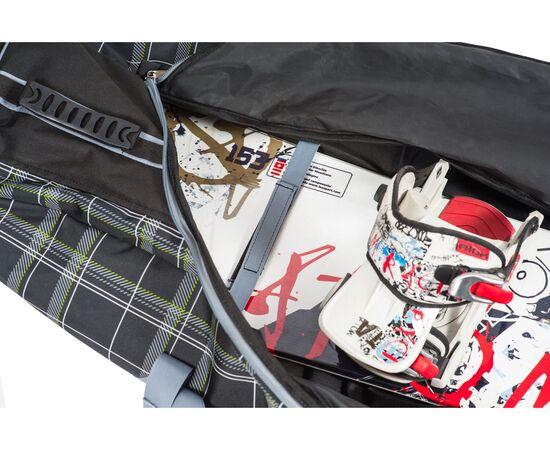 Чехол на колесах для сноуборда «Фрост» 165 см, фото чехла внутри