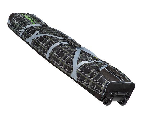 Чехол на колесах для сноуборда «Фрост» 175 см, цвет Black check