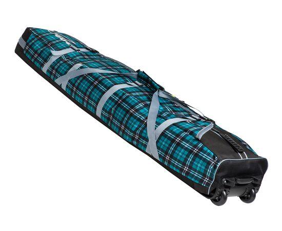 Чехол на колесах для сноуборда «Фрост» 175 см, цвет Green check