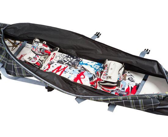 Чехол на колесах для сноуборда «Фрост» 175 см, фото чехла внутри