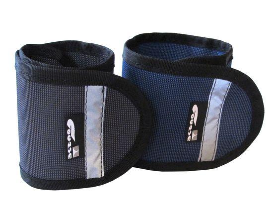 Чехол COURSE защитный для штанины, черный и синий