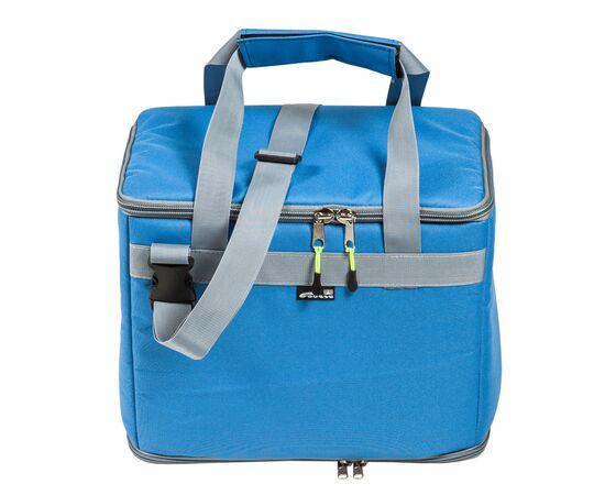Термосумка17,5 л (35х20х25 см) COURSE для еды, с верхним входом, синий цвет