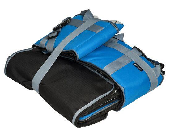 Термосумка 18 л (35х35х15 см)  COURSE для еды, с верхним входом, синяя