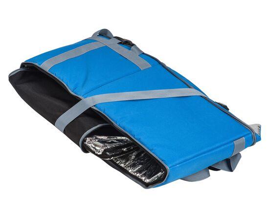 Термосумка 30 л (35х35х25 см) COURSE для еды, с верхним входом, синий цвет