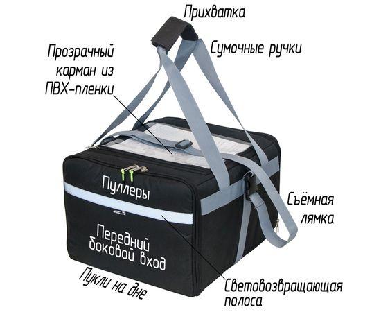 Термосумка 30 л (35х35х25 см)  COURSE для доставки еды, особенности модели