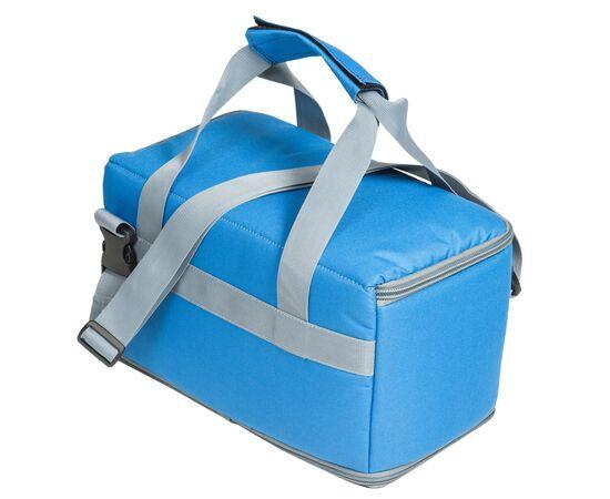 Термосумка 9 л (35х17х15 см) COURSE для еды, с верхним входом, синий цвет