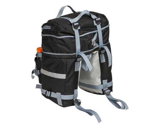 Велорюкзак на багажник (велоштаны) 22-30 литров - увеличенный объем
