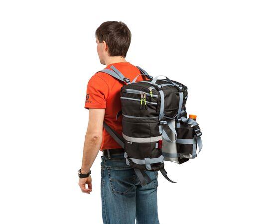 Велорюкзак на багажник (велоштаны) 22-30 литров, как заплечный рюкзак