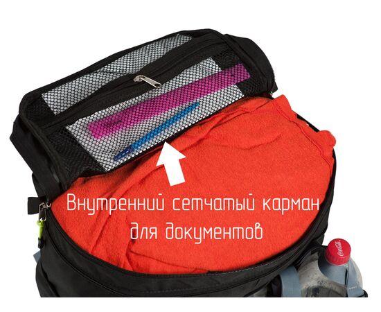 Внутренний карман у велорюкзака для документов