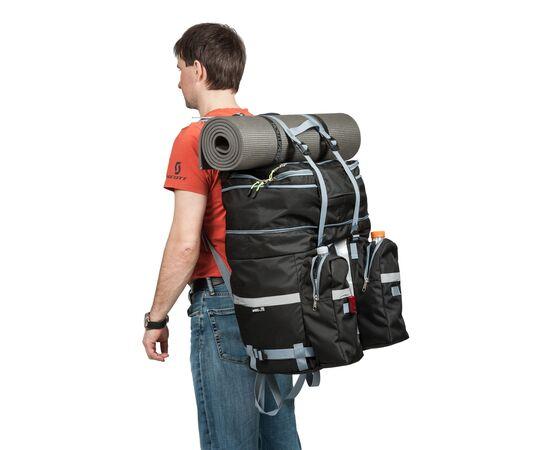 С «рюкзачными» лямками  велорюзкак (велоштаны), как заплечный рюкзак