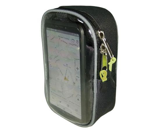 Велосумка «Боксер» на руль для мобильного телефона, COURSE