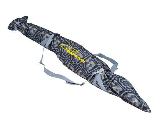 Чехол «Спектр» для беговых и горных лыж 180-210 см, цвет Black stroke