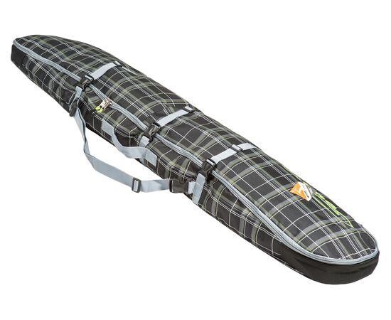 Чехол-рюкзак для сноуборда «Фьюжн» 145 см, общий вид, цвет Black check