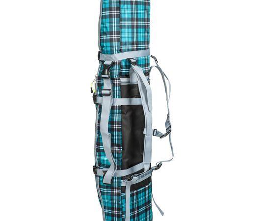 Чехол-рюкзак для сноуборда «Фьюжн» 145 см, вид с лямками