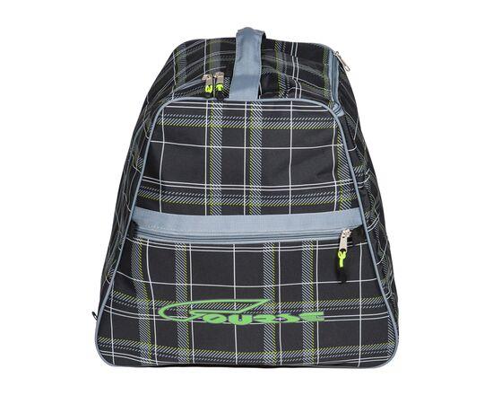 Сумка-рюкзак для 1 пары горнолыжных ботинок, вид сбоку, цвет Black check