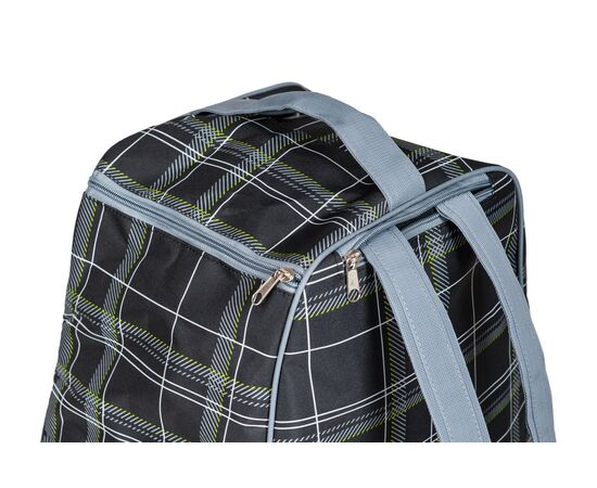 Сумка-рюкзак для 1 пары горнолыжных ботинок, цвет Black check