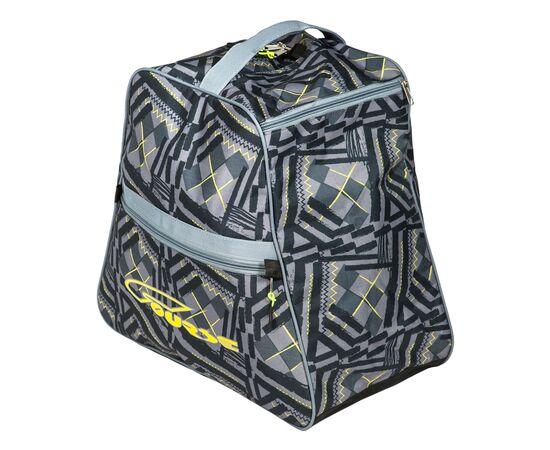 Сумка-рюкзак для 1 пары горнолыжных ботинок, общий вид, цвет Black stroke