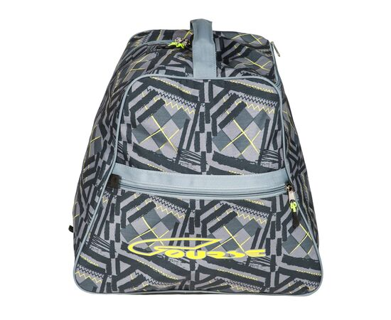 Сумка-рюкзак для 1 пары горнолыжных ботинок, вид сбоку, цвет Black stroke