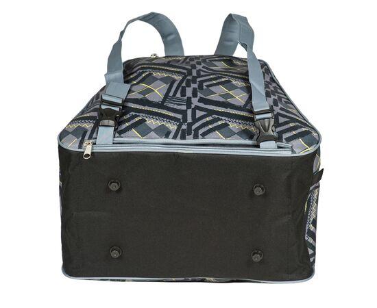 Сумка-рюкзак для 1 пары горнолыжных ботинок, вид снизу, цвет Black stroke