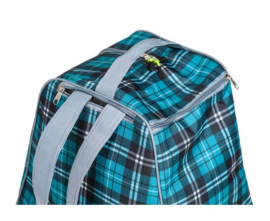 Сумка-рюкзак для 1 пары горнолыжных ботинок, цвет Green check