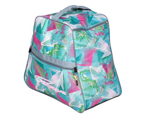 Сумка-рюкзак для 1 пары горнолыжных ботинок, общий вид, цвет Light green