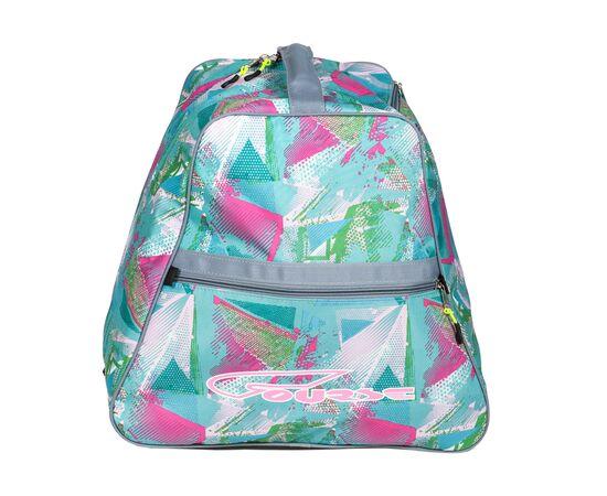 Сумка-рюкзак для 1 пары горнолыжных ботинок, вид сбоку, цвет Light green