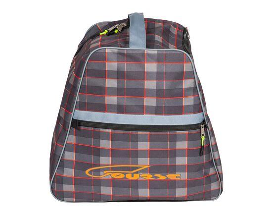 Сумка-рюкзак для 1 пары горнолыжных ботинок, вид сбоку, цвет Orange check