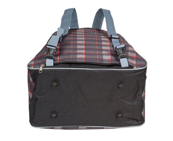 Сумка-рюкзак для 1 пары горнолыжных ботинок, вид снизу, цвет Orange check