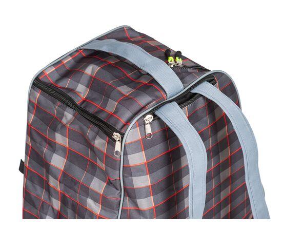 Сумка-рюкзак для 1 пары горнолыжных ботинок, цвет Orange check